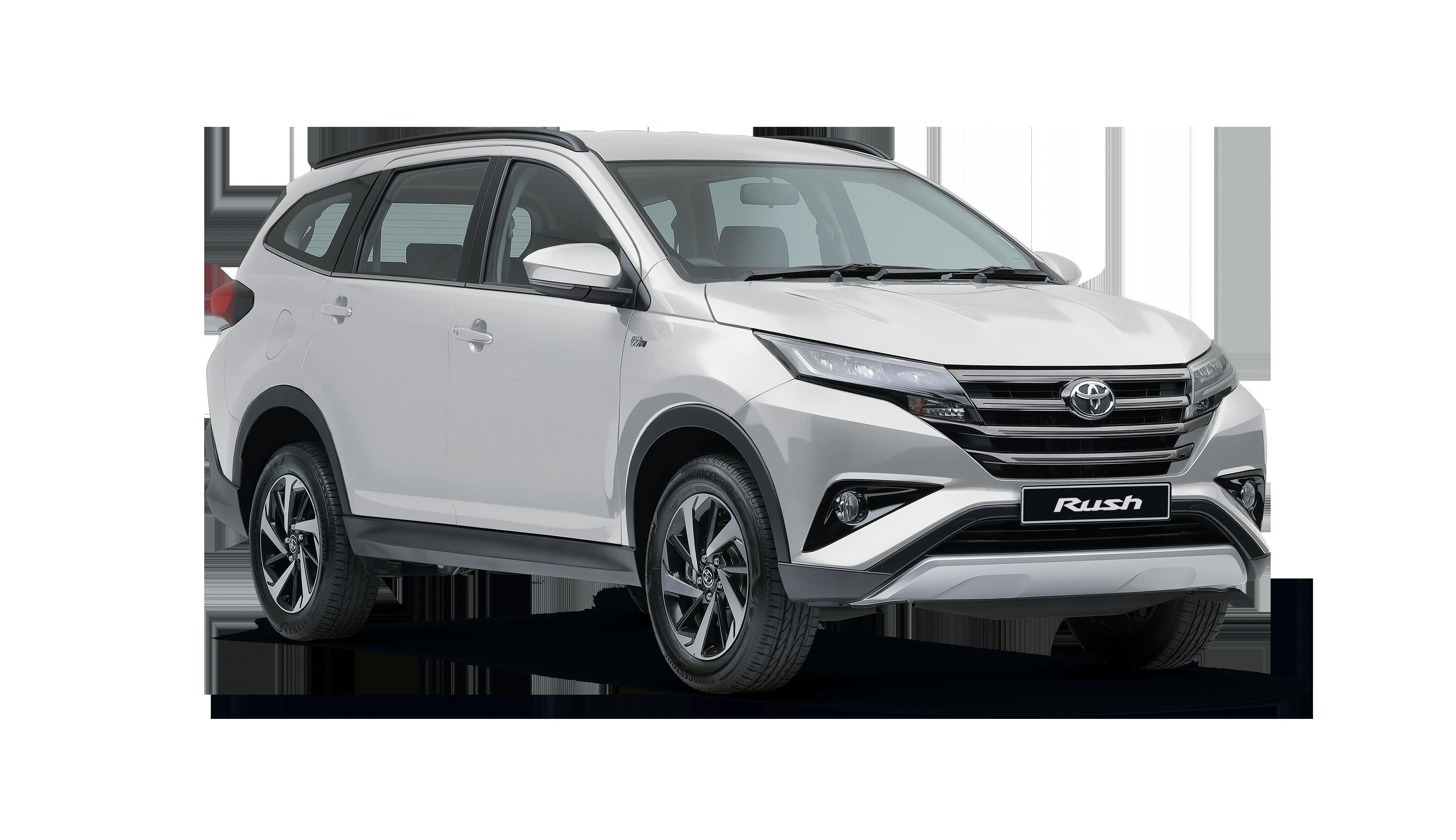 New Vehicle Ranges Rush Mccarthy Toyota